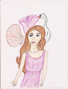 Aphrodite, the Goddess of Love by Allamericangirl966