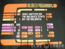 Star Trek LCARS Interface Cross Stitch by LordLibidan