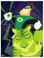 Green Lantern Commission by Montygog