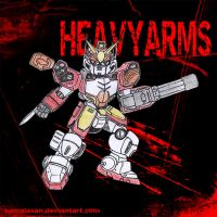 HEAVYARMS by kamalasan