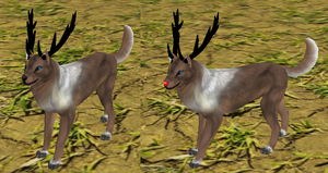 Free to use Feralheart preset -raindeer- by SilverHorseShoos