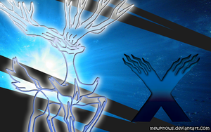 Xerneas Wallpaper by MewKnows