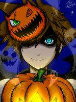 Kingdom Hearts - HalloweenTown!Sora by MelSpontaneus