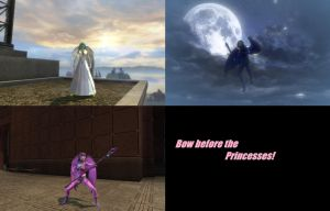 3 Equestrian Princesses in DC Universe Online by Shritistrang