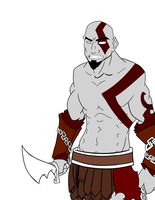 Kratos WIP 2 by tbowe321
