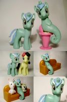 Lyra and Seapony Lyra G4 pony. by Oak23