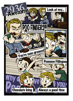 2936Awesome:TheMightyPooFinger by aternox