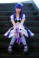 Lolita Sailor - Stocking I by EnchantedCupcake