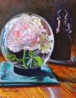 Flower Globe by cyndavalle