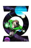 Green Lantern by kentarcher