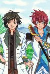 Tales of Crossover: Asbel Lhant and Jude Mathis by dagga19