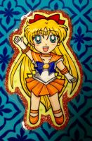 Chibi Gift: Sailor Venus for Haley by Magical-Mama