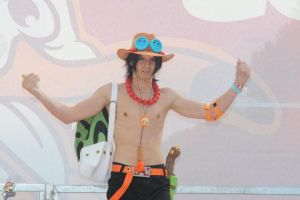 Portuguese D. Ace Rimini Comix by RedAceCosplay