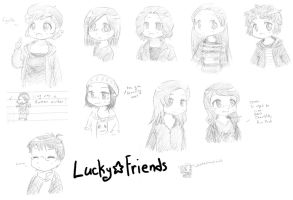 LuckyFriends by Kaede-chama
