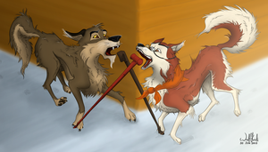 Falling For Each Other Again by WolfKodi