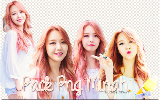 Pack PNG Minah by BlackPearl-Yuri