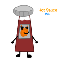 My 1st OC - Hot Sauce by WellRead