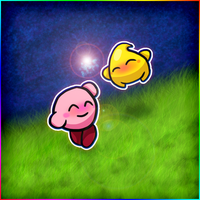 Kirby's New Friend is Luma by kiiroyasuna