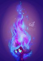 Flames of Cuteness by Wilvarin-Liadon