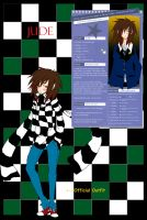 .:Official Jude Chara Sheet:. by capochi