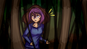The Forest - Minx by cyberbubble99