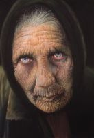 old woman by GOTYCKI