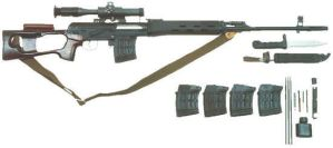 Dragunov Sniper Rifle by The-Real-Shadow-x
