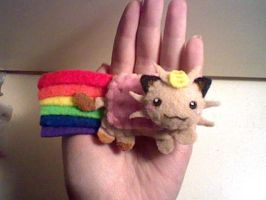 Nyan Meowth Magnet by Sexual-Pancake
