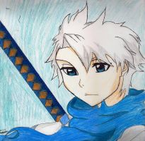 Toshiro Hitsugaya {Art Sketch Exchange} by SgtJellyBeans