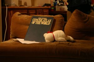 Bear, couch, atlas by H00dMan
