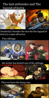 TLA and LOK similarities by dreamerbird
