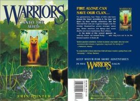 Warriors into the wild Cover + Blurb by NewMoon-Dragoness