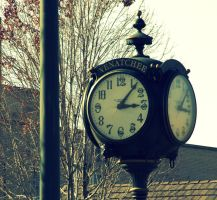 Downtown Clock by Soulmaytz