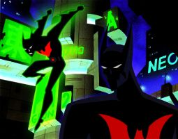 Batman beyond tas glow by bat123spider