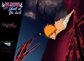 Bleach : 377 shout at the dark by Tice83