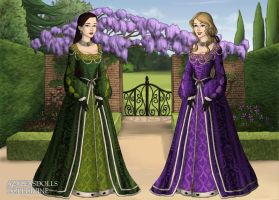 Shepard Sisters, Tudor Style 2.0 by LadyIlona1984