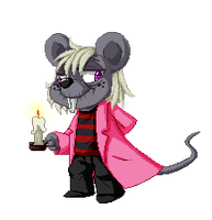 Chibi pixel Gregory by Meb90