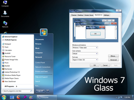 Windows 7 Glass by Vher528