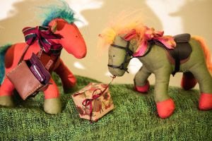 Mini Horses by esther-rose-mouse
