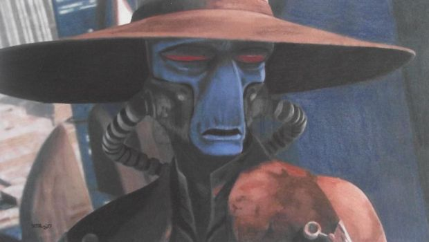 Speed Challenge 25: Cad Bane by Starfire-Productions