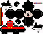 Mickey Mouse Cubeecraft by Manaies