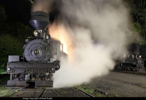 Cass at night by 3window34