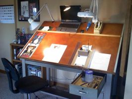 work station finished by saltares