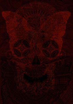 red and blood shed by BauCreeep