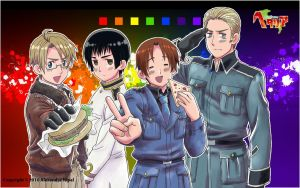 Hetalia: Axis PowersWallpaper2 by AlexanderTheTerrible