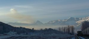 Frozen morning by lucium55