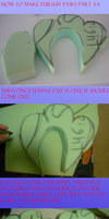 How to make fursuit paws part3.A by VioletHybrid