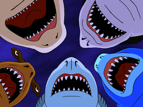 Street Sharks favourites by Maxime-Jeanne on DeviantArt