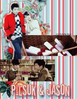 Pilsuk and Jason [DreamHigh] GIF!!! by Laxe-BloodyDays
