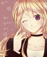 Happy B-Day Lucy!! by Esha-R